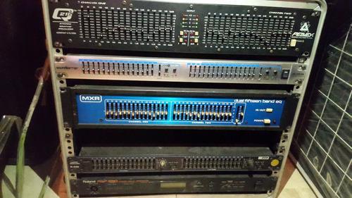 Ecualizador de sonido profecional. m.x.r. de 15 bandas