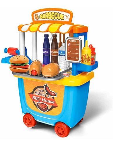 Juguete para niños y niñas food truck cod tc-2