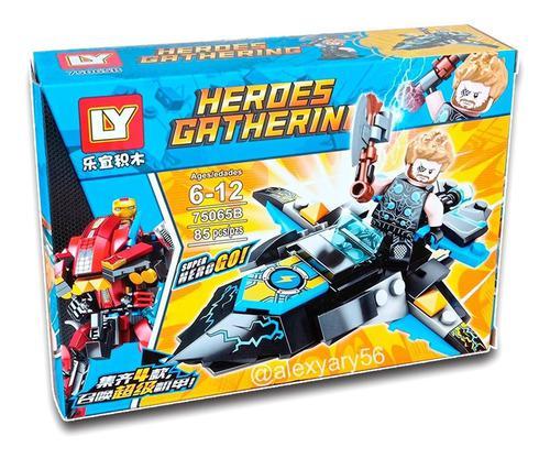 Lego juguete armable super heroes avenger vehiculo hulk iron