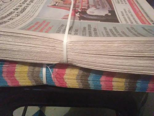 Periódicos varios usos por paquete