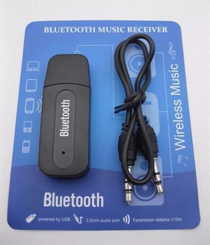 Receptor de musica audio bluetooth usb auxiliar 3.5mm