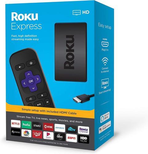 Roku express hd, convertidor a smart tv. tienda, delivery