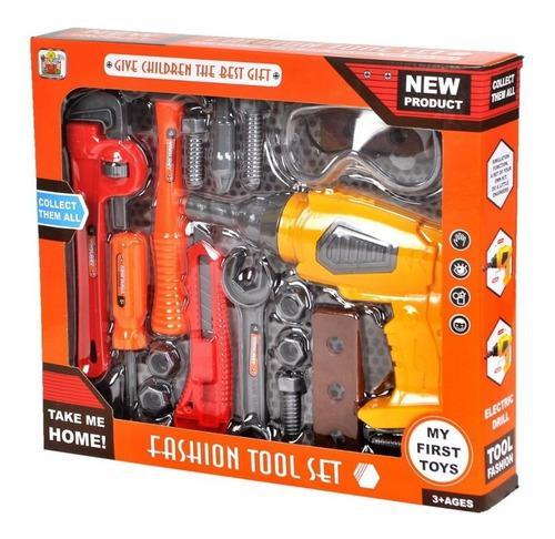 Set de herramientas juguete para niños