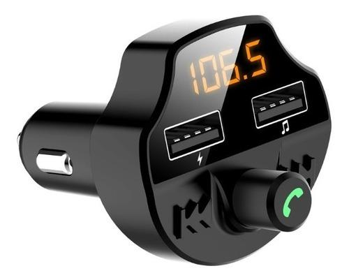 Transmisor de audio fm bluetooth salida/entrada usb microsd