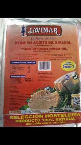Atún javimal (atun en aceite de girasol) (1 kg)