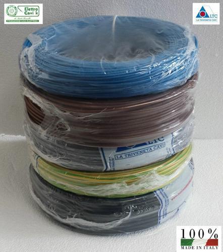 Cable corriente 100% cobre italiano #10, 16, 6, 4