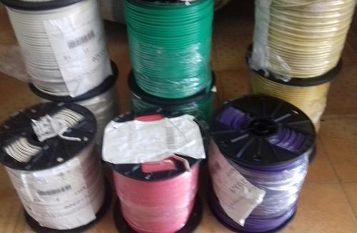 Cable eléctrico no. 10 100% cobre de 153 mts. 500 spc
