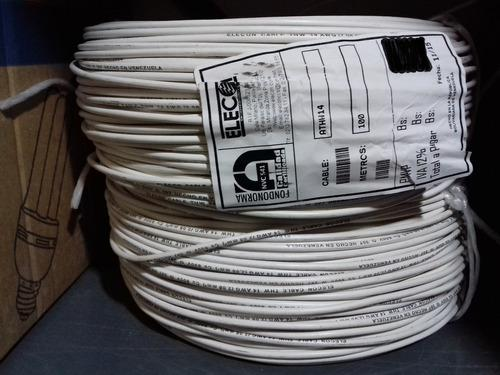 Cable thw 14 awg 600v elecon