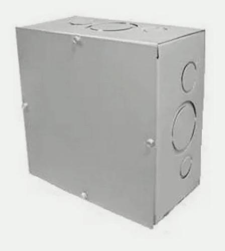 Caja de paso metalica 6x6x4 pulgadas