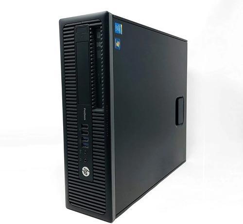 Computadora hp i5 de cuarta 4gb ram 500gb hdd prodesk 600 g1