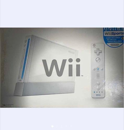 Consola de video juego wii. 50v oferta!!!