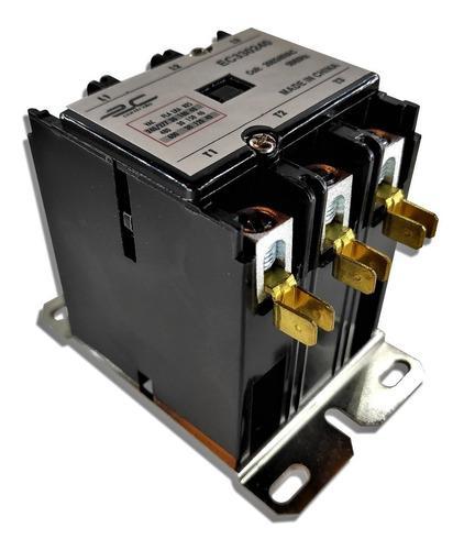Contactor 3 polos 30 amperios bobina 220 voltios