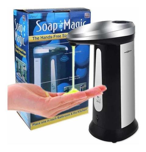 Dispensador de jabón líquido o gel con sensor infrarrojo
