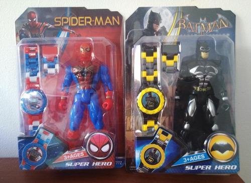 Reloj para niñas niños frozen, lol,spiderman, ben 10,