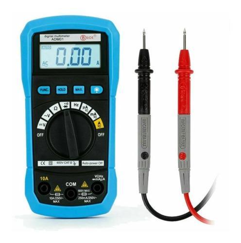 Tester, multímetro digital, técnico, electrónica