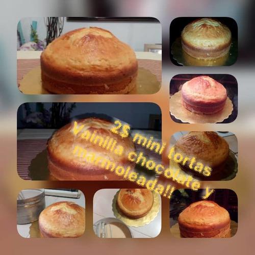 Torta de vainilla o marmoleada (400gr)