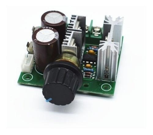 Variador pwm motor dc 12v-40v 10a control de velocidad