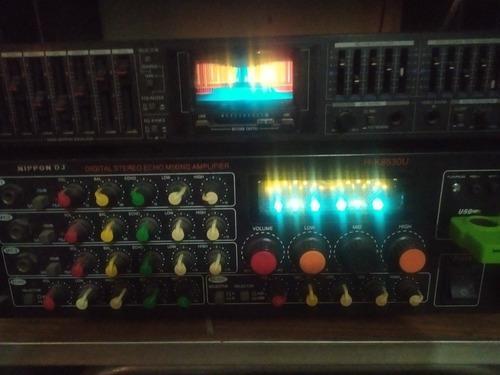 Amplificador nippon dj y equilizador samsui