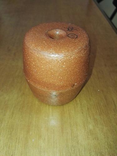 Boya flotadores tipo barrilito para pescas modelo f801 brown