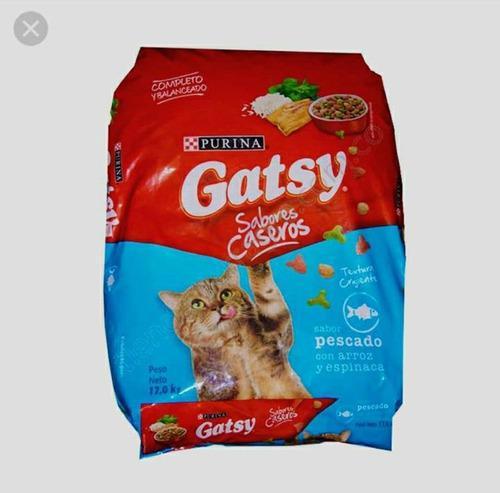 Comida para gatos gatsy de 17kg** oferta**