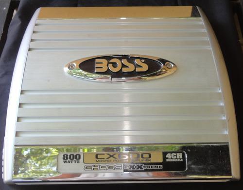 Planta amplificador boss ch 650 800 watts 4 canales