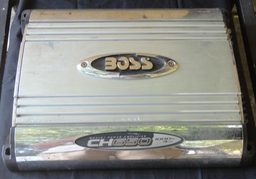Planta amplificador boss cx650 1000 watts 4 canales 30v