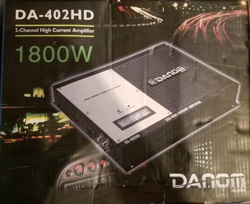 Planta Amplificador Danom Da-402hd 2 Canales 1800w