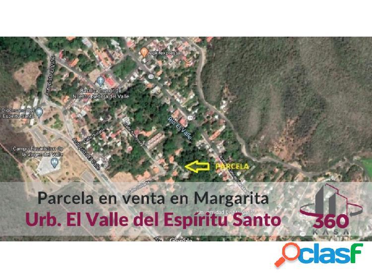 Parcela de terreno en el valle - isla de margarita