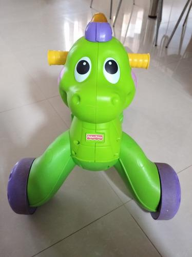 Andadera dinosaurio fisher price