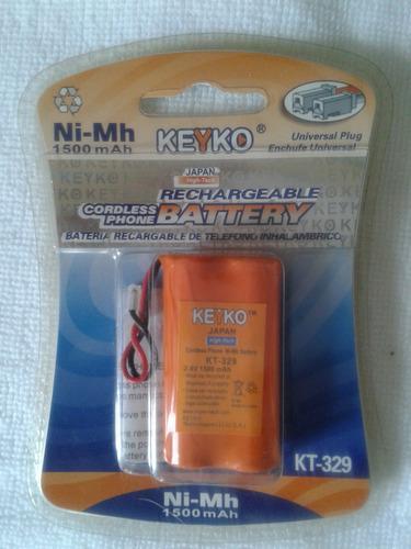 Bateria para telefono inalambrico recargable keyko-kt-320