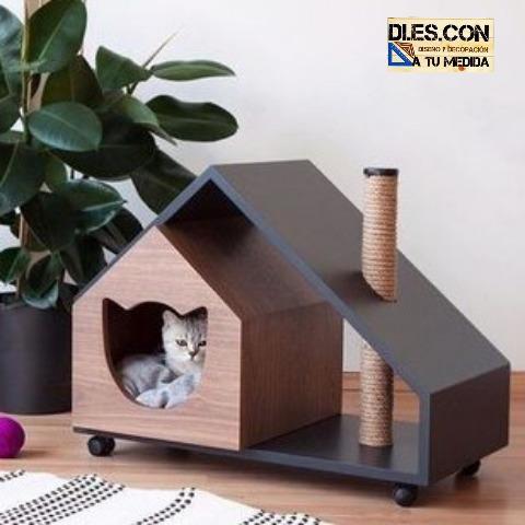 Casas, camas, mascotas, perros, gatos, artículos