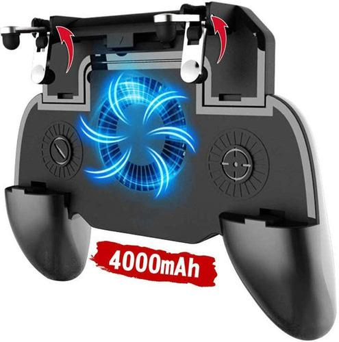 Control gamepad joystick celular fan cooler powerbank 4000ma