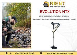 Escáner de suelo okm evolution ntx y detector de metales