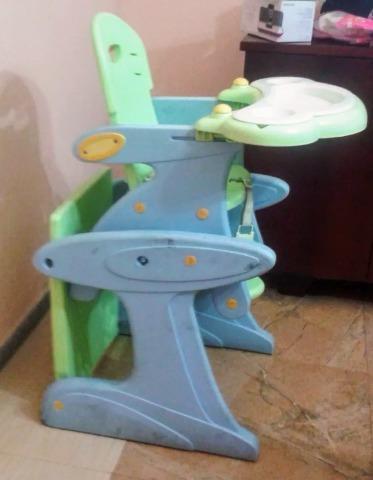 Silla/escritorio de bebé para comer