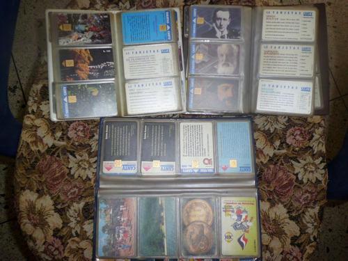 Tarjetas telefónicas cantv, colección(+de 130 unds)