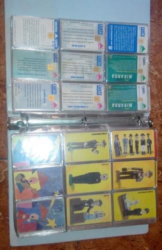 Tarjetas telefonicas coleccion