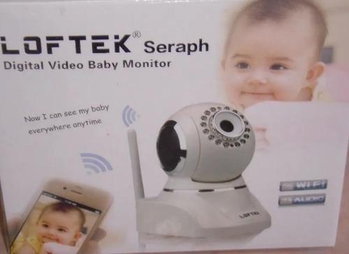 Video monitor digital para bebe wi-fi marca loftek