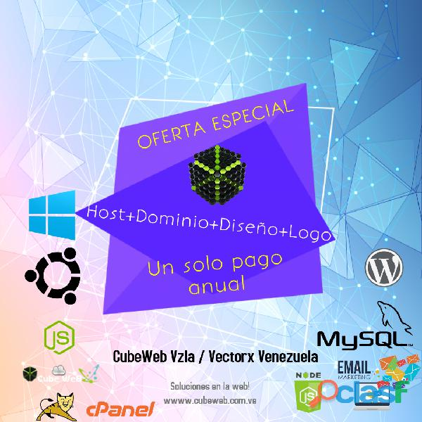 Tu sitio web o tienda profesional, en sólo 5 días! + diseños