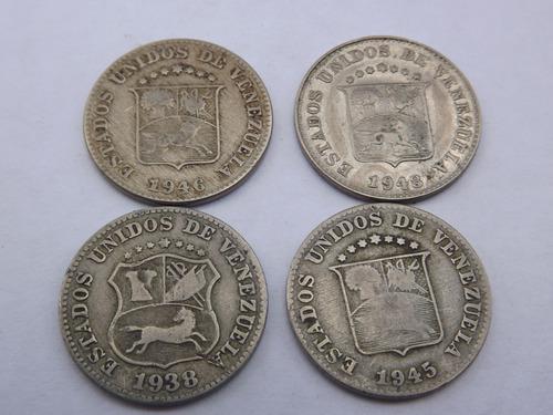 Combo de monedas de 5 céntimos (puya). venezuela