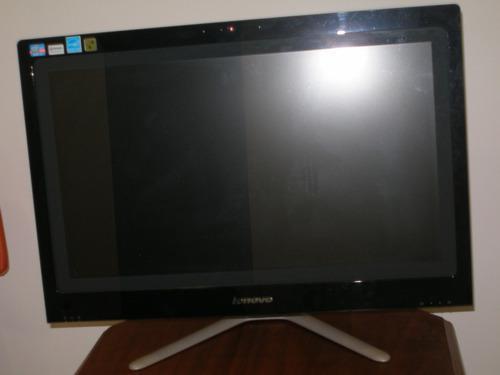 Computadora todo en uno lenovo core i3 pantalla 23 led