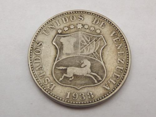 Excelente locha (12 1/2 céntimos). venezuela. año 1.938