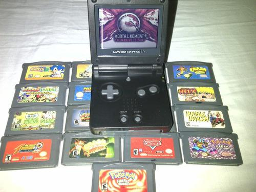 Game Boy Advance Sp + 19 Juegos