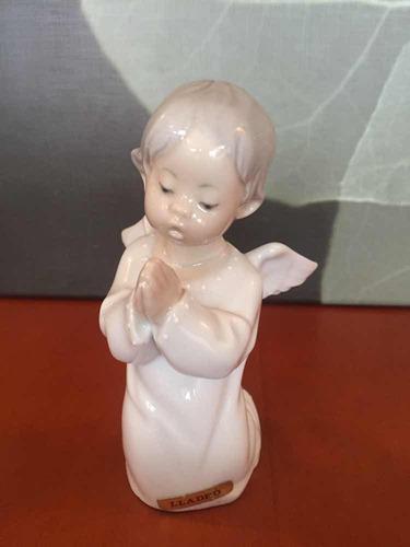 Lladro figura porcelana angel rezando original.