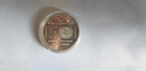 Moneda aniversario banco central de venezuela 1940 1990