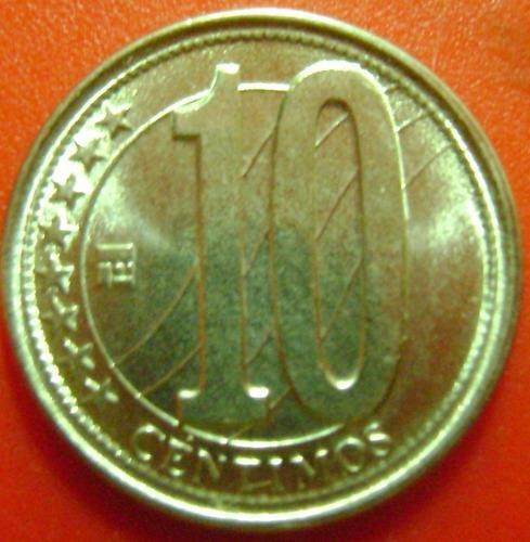 Moneda de 10 centimos 2012 unc(sin c.) c/u bs |.550.000_