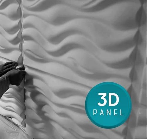 Paneles decorativos 3d modelos nuevos en yeso