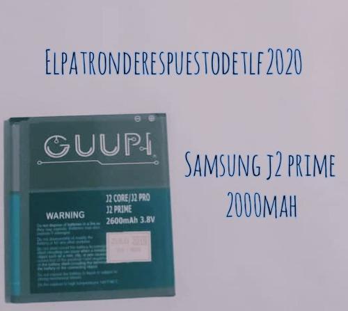 Pila Bateria Samsung J2 Prime Corte J3 Energy J3 J5