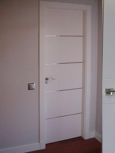 Puertas con diseños exclusivos en laminado decorativo 0.70y