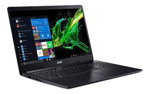 Laptop acer aspire a115 intel 1.10ghz 4gb 64gb ssd 15.6 led