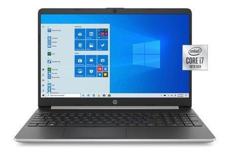 Laptop hp intel core i7 8gb ram 256gb ssd 15.6 hd 10th win10